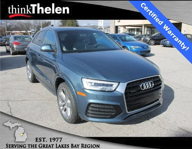 Buy Your Gently Used 2016 Audi Q3 in Bay City, Michigan