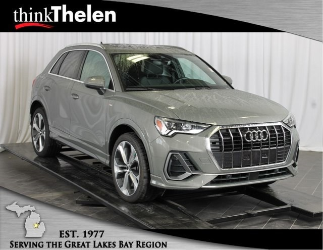 Luxurious and Spacious 2019 Audi Q3 Available at Thelen Audi in Bay City