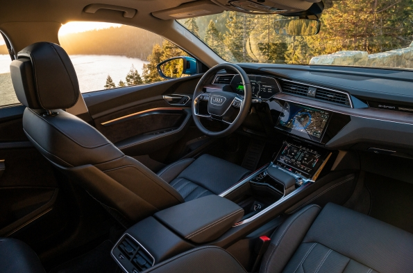 2019 Audi e-tron SUV Honored for Exceptional Interior
