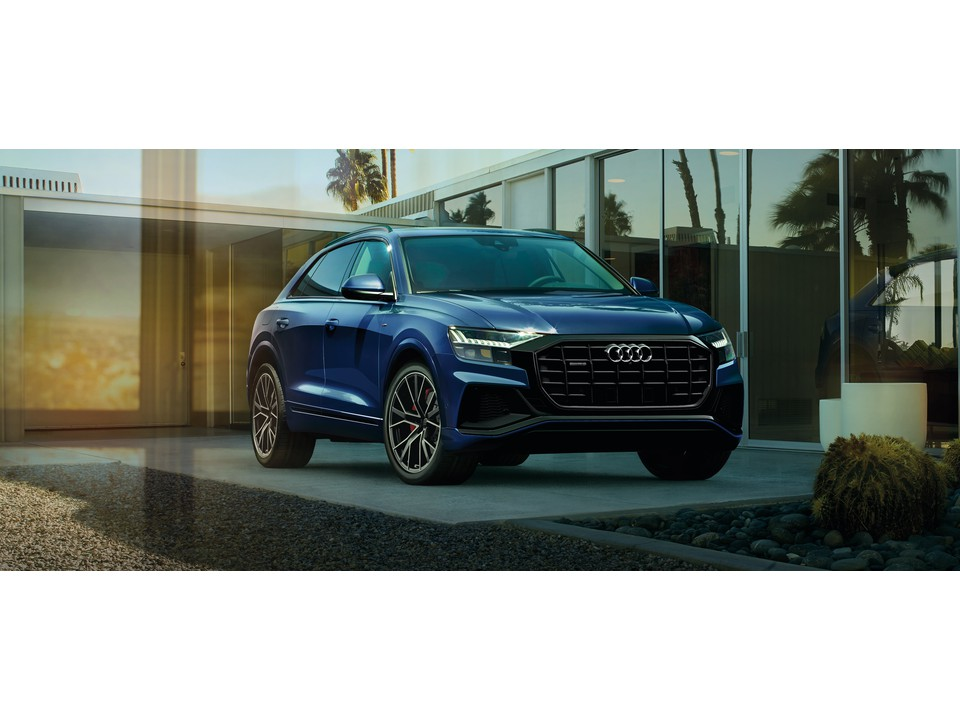 Cruise Michigan in a 2021 Audi Q8 Performance SUV for Ultimate Capability and Comfort