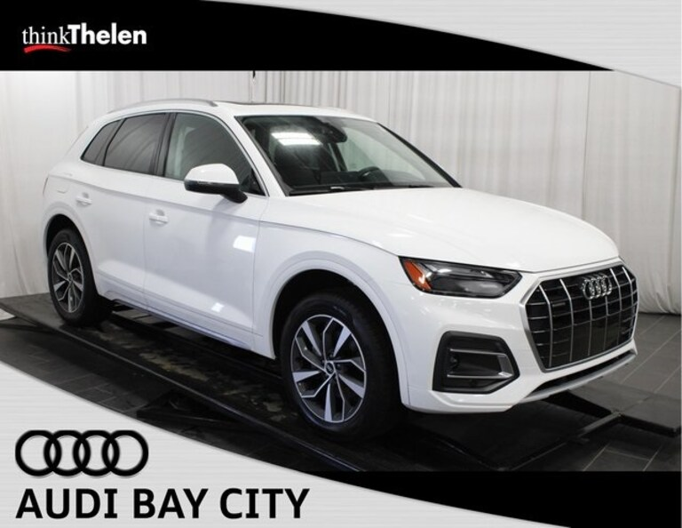 Drive off the Lot in a Luxury 2021 Audi Q5 SUV from Thelen Audi in Bay City, Michigan